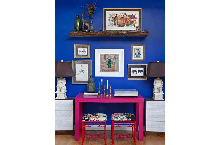 Color Combos like Cobalt Blue and Fuchsia