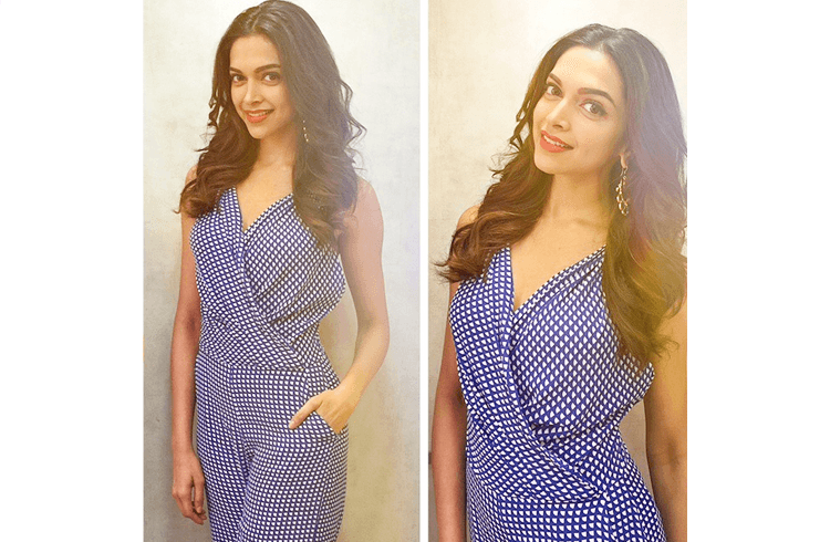 Deepika Padukone from Piku promotions at the Melange