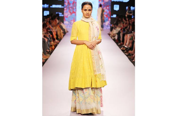 Designer Gaurang Shah creation for Lakme Fashion Week