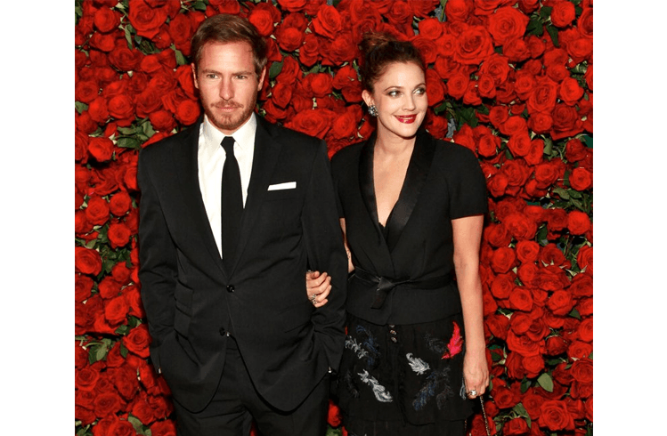 Drew Barrymore and Jeremy Thomas