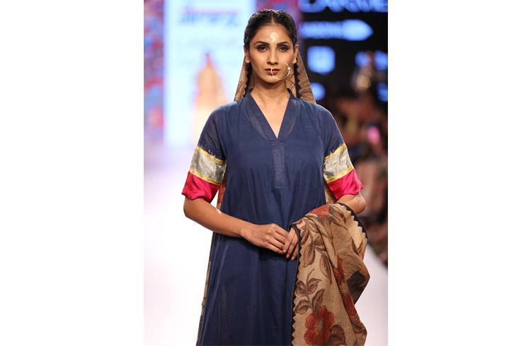 Fashion Model walks for Gaurang Shah
