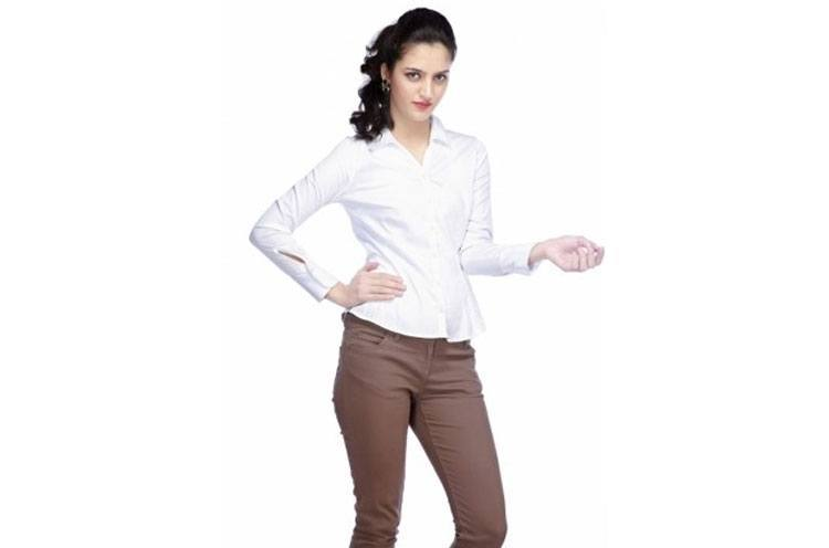 Formal White Shirt for Office Wardrobe