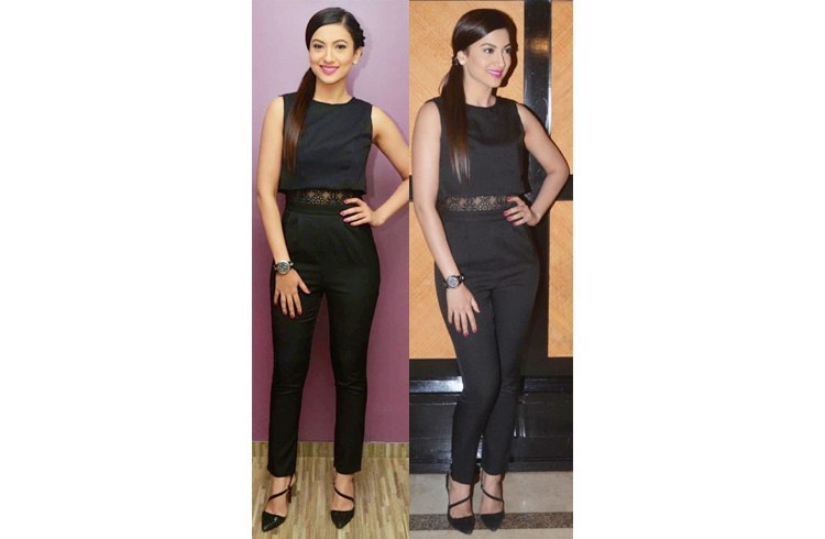 Gauahar Khan at Alma Laser Clinic Launch