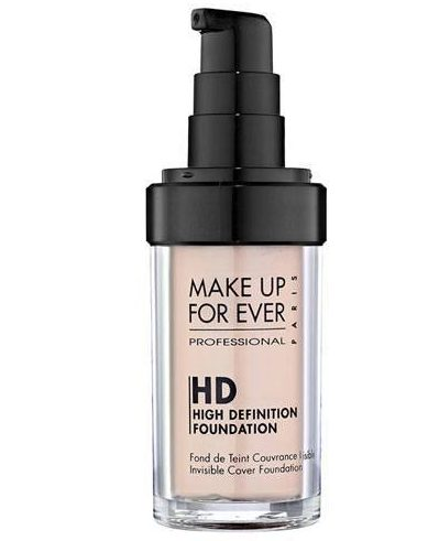 HD Invisible Cover Foundation for oily skin