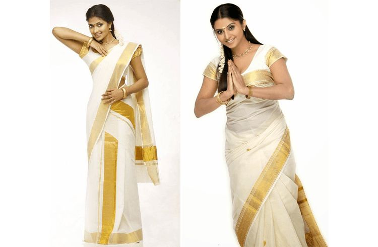 Saree pin-up style dress
