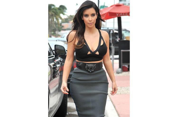 Kim Kardashian Oversized Belt