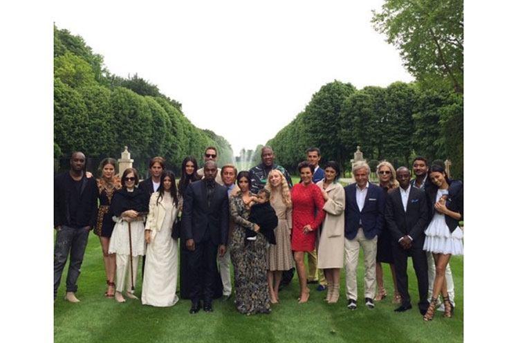 Kim Kardashian Wedding Party