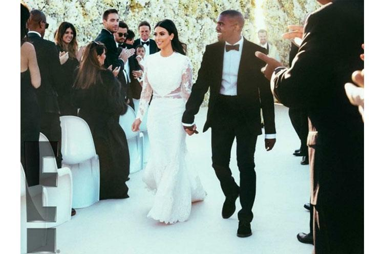 Kim Kardashian and Kanye West's Wedding