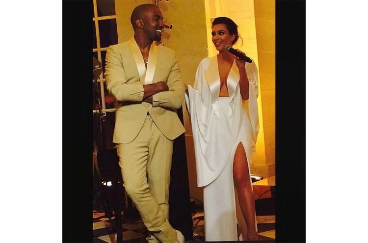 Kim and Kanye Rehearsal Dinner Kimye Paris Wedding