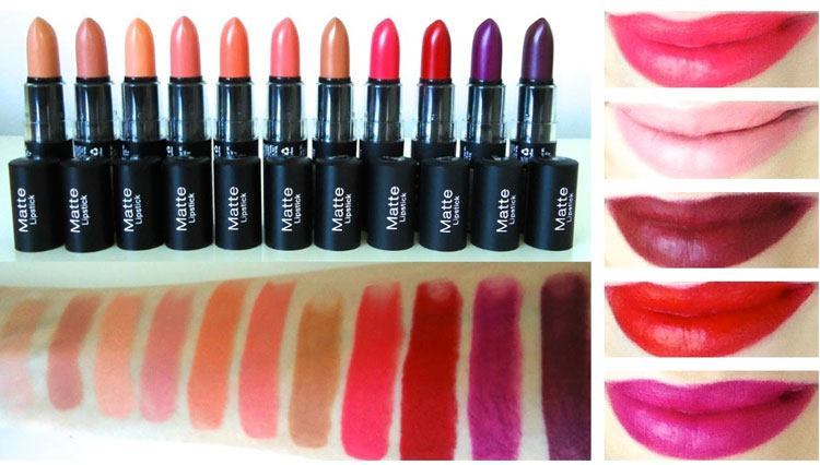 Matte Lipstick Shades to Wear This Summer