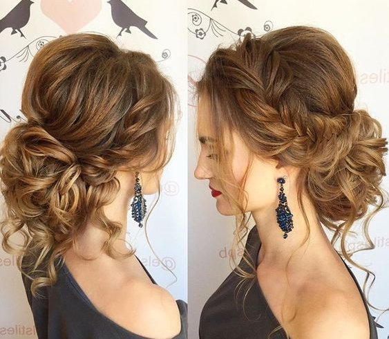 Messy Or Braided Buns