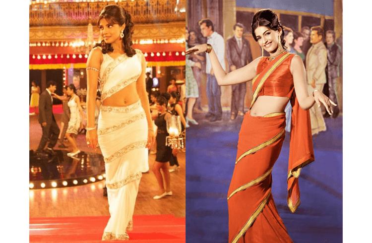 Mumtaz Style of Wearing Saree