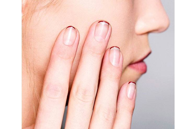 Negative Space Nail Art: Trending in Fashion Corridors