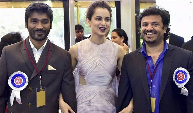 Kangana Ranaut got Best Actress Award for Queen at 62ND National Film Awards