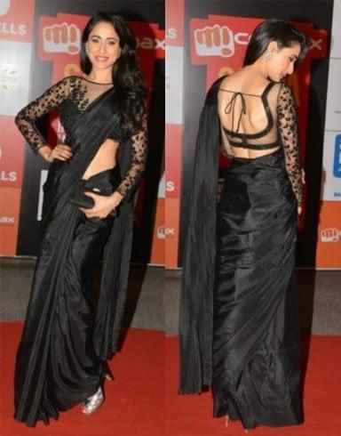 Pragya Jaiswal In A Sheer Style Blouse