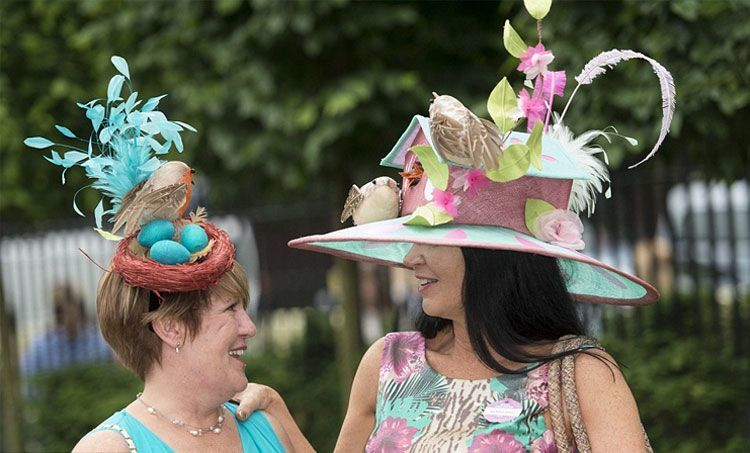 Racecourse Fashion Mandatory Accessory