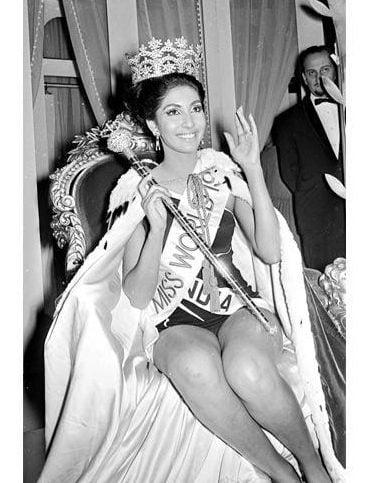 Reita Faria Indian Miss World