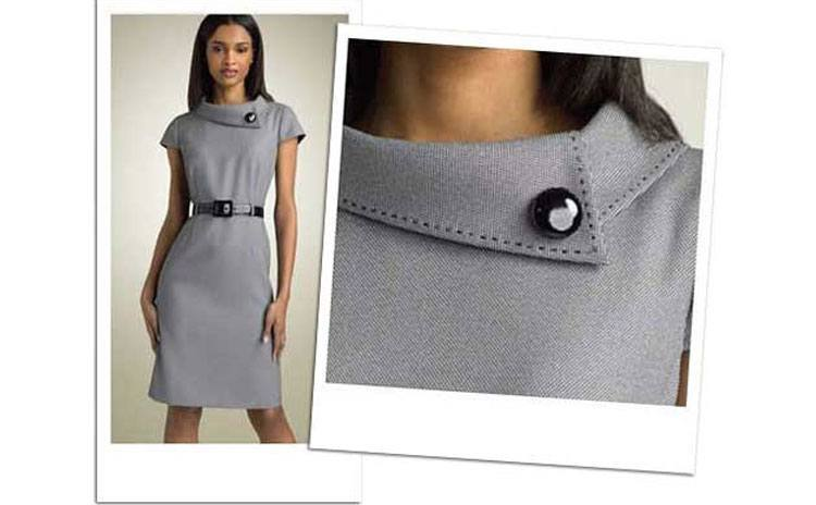 Brilliant Hot Summer Style Round Collar Women Dress Pleated Hollow Lace Dress