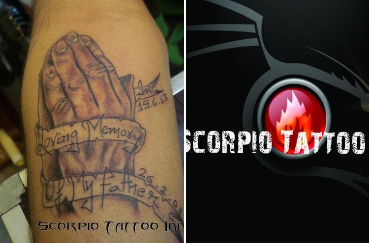 Scorpio Tattoo in Delhi
