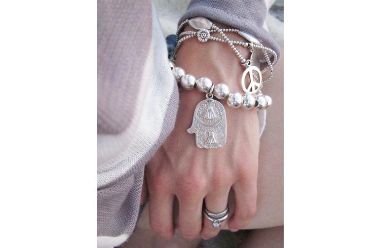 Silver Bangles and Bracelets