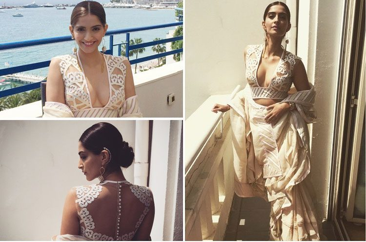 Sonam Kapoor Cannes 2015 at Press Meet