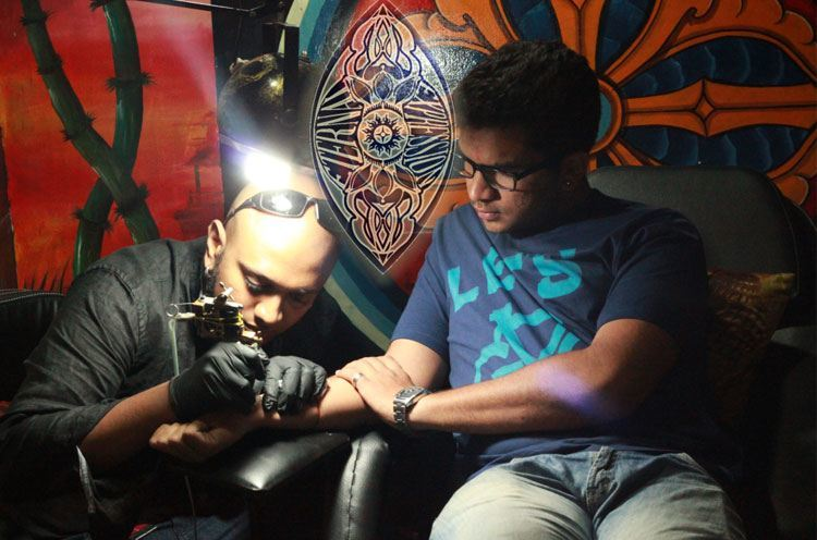 Tattoo Artists Veer Hegde in Bangalore