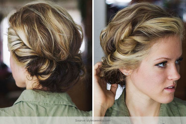 Groovy Easy Twisted Hairstyles Anyone Can Try Hairstyles For Women Draintrainus