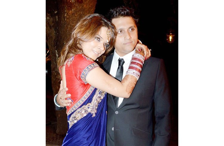 Udita Goswami and Mohit Suri