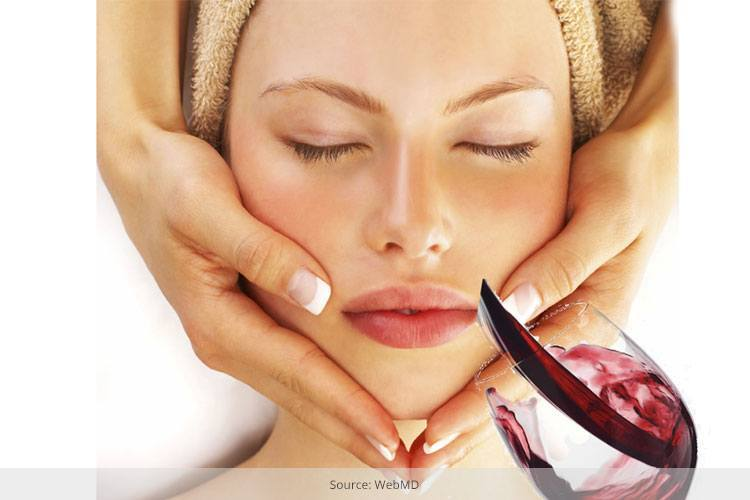 Uses Of Red Wine For Skin