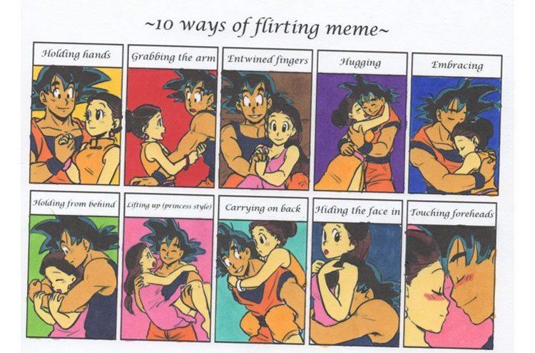 Various Styles in Flirting