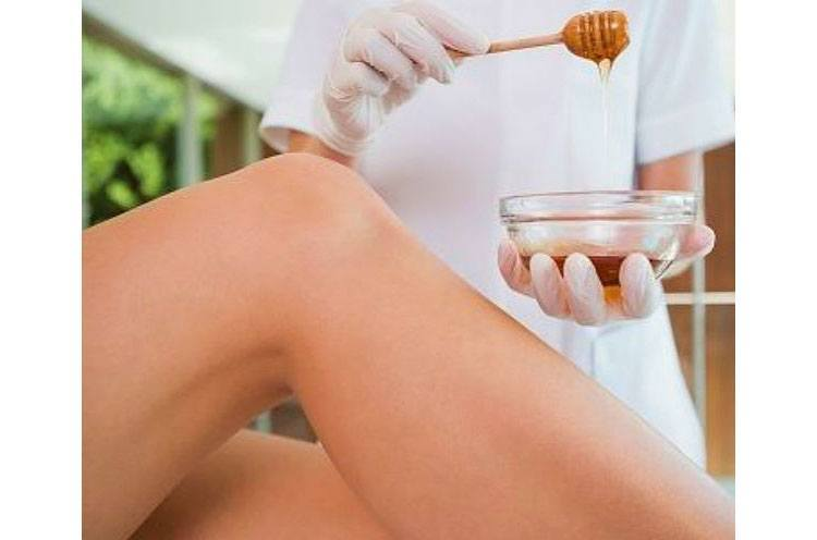 Waxing at Bikini area