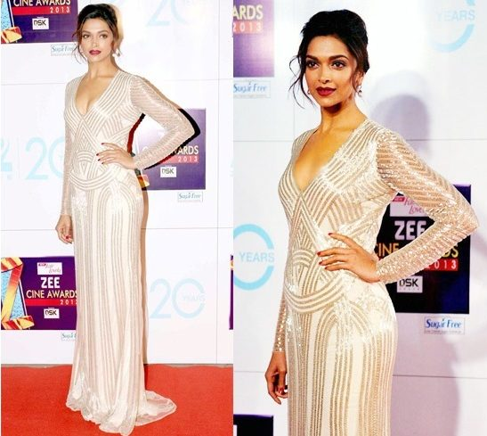 Deepika Padukone in gown