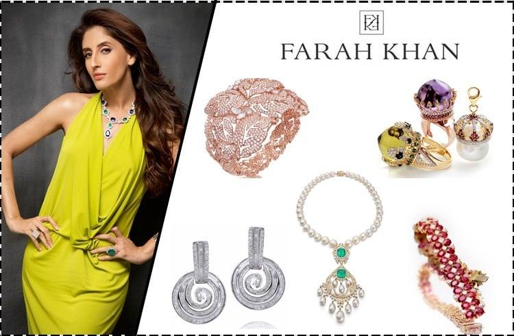 Farah Khan Ali Jewellery designs