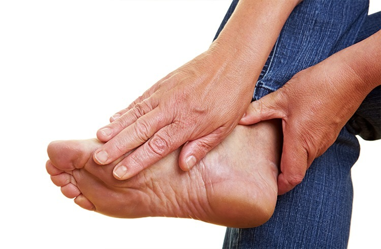 Feet Aging Signs