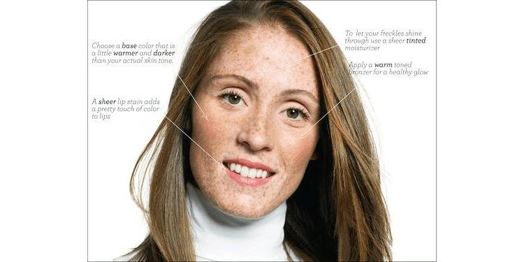 Freckles Makeup