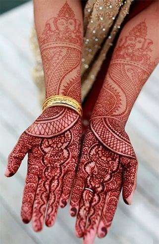 Ganesh henna design