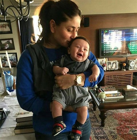 Kareena Kapoor Khan and Son Taimur Ali Khan