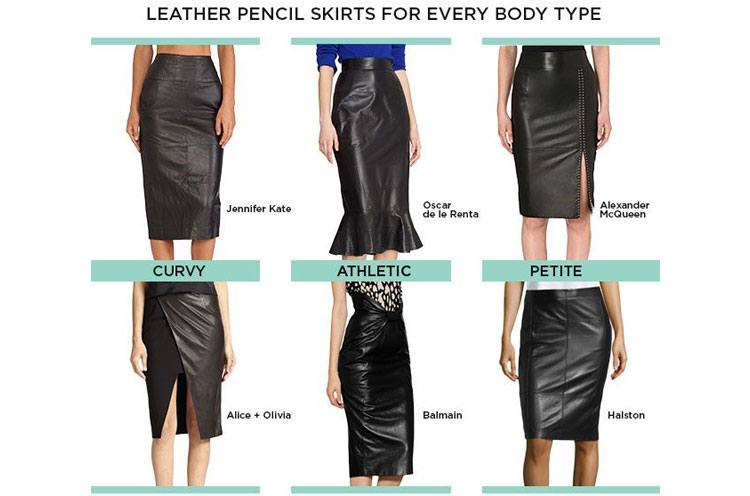 The Complete Pencil Skirt Guide – Choose One For Your Body ...