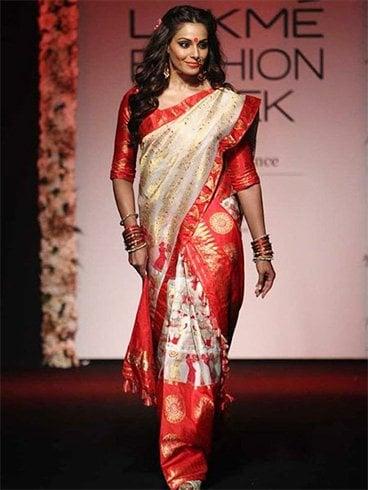 Mekhela Chador from Assam