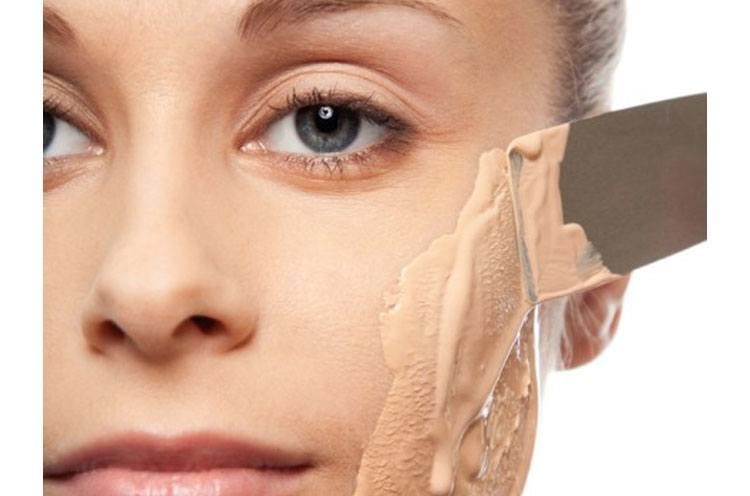 over makeup