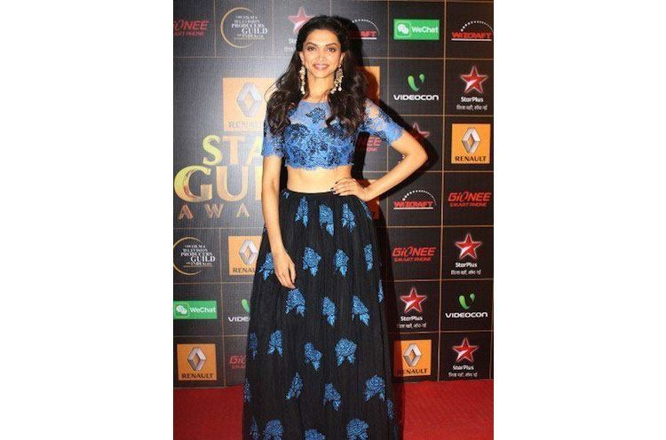 Deepika Padukone in racy lace