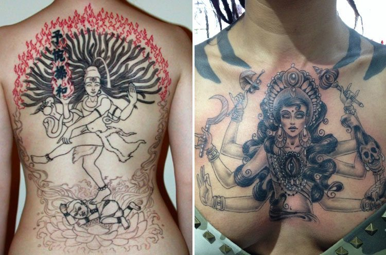 religious tattoo designs for woman