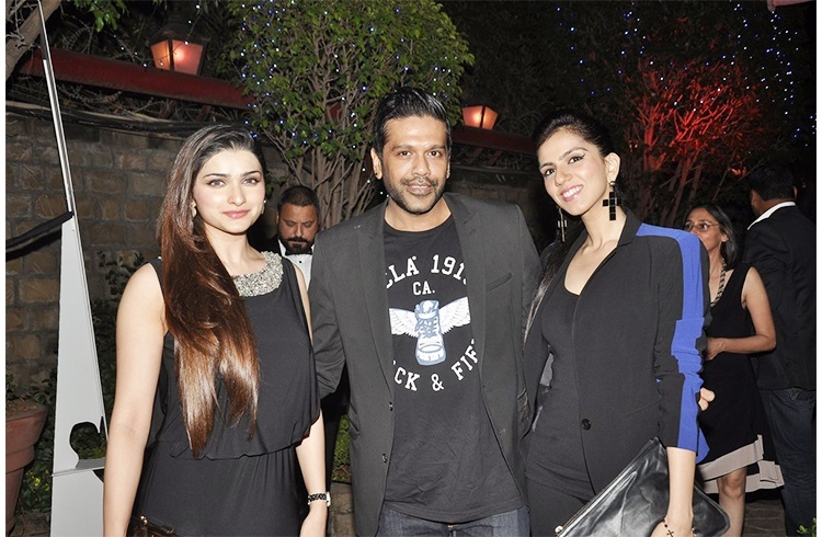 Rocky with Prachi and Nishka Lulla
