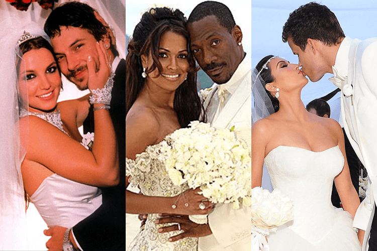 Shortest Celebrity Weddings