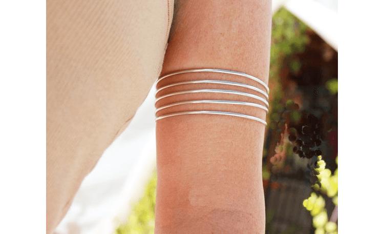 Silver Armlets