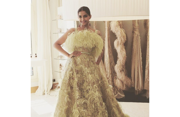 Sonam Kapoor at 68th Cannes Festival