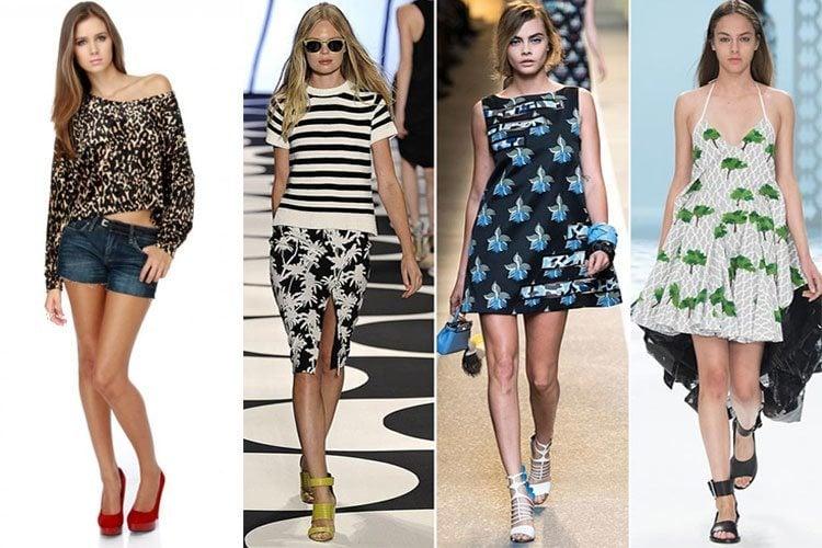 summer print dresses