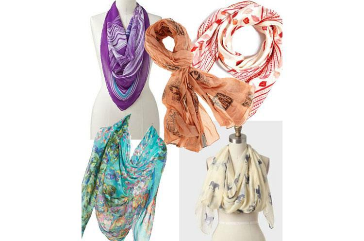 summer scarves for women