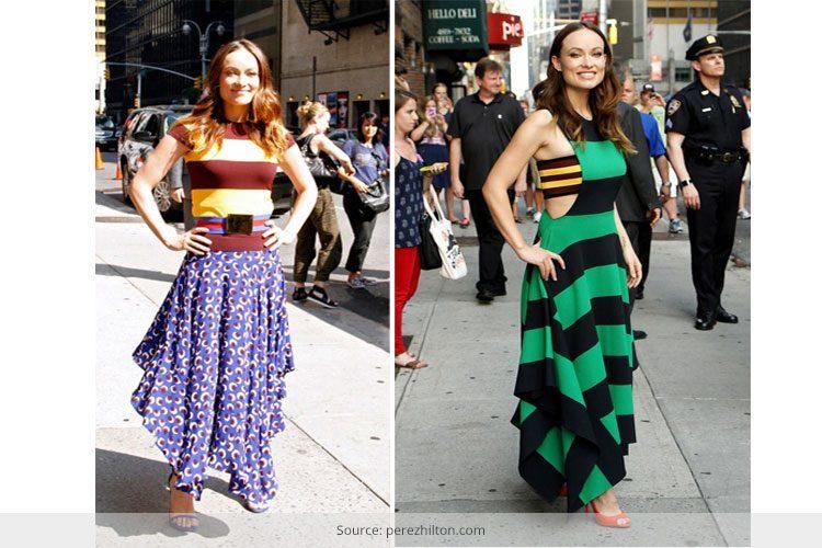 unique colour combinations for dresses