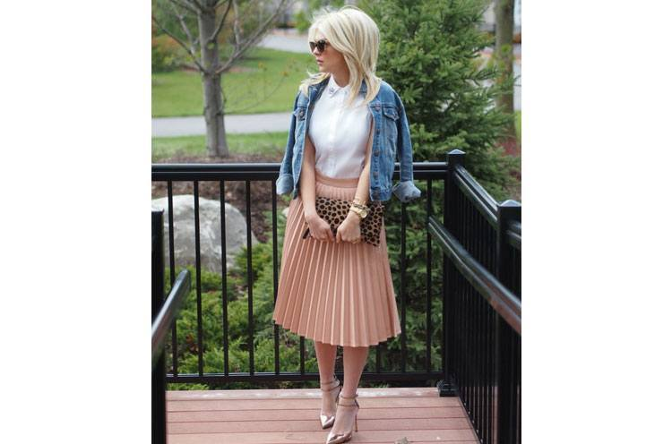 Accordion Skirt for womens